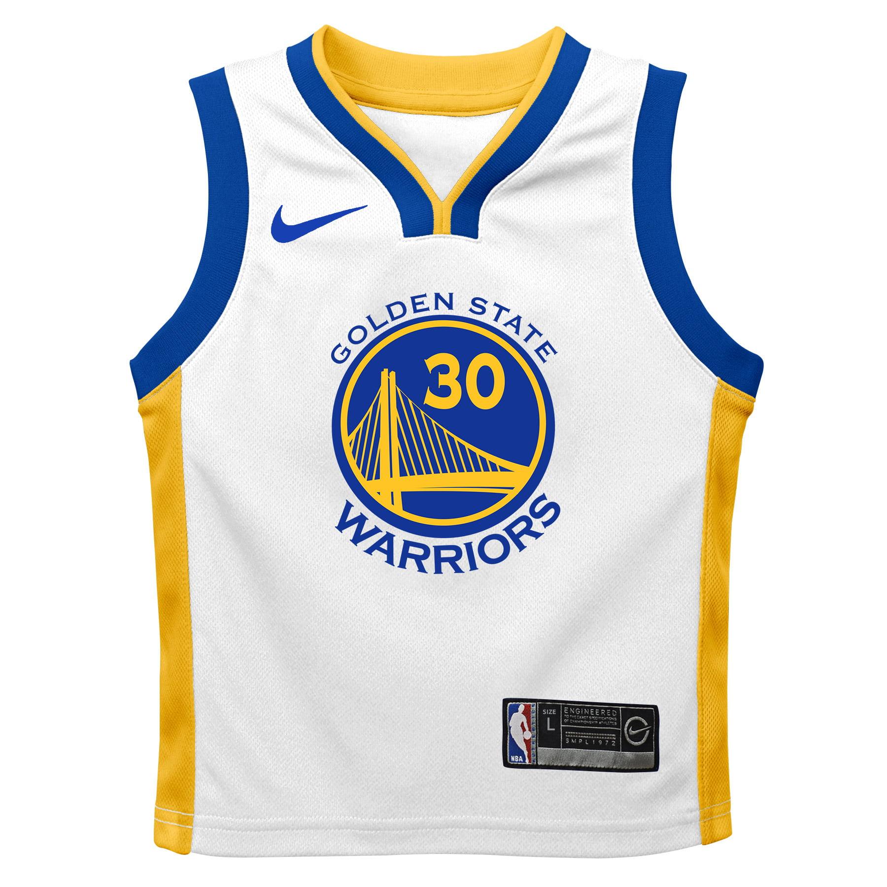 c02331c51ab Stephen Curry Golden State Warriors Nike Preschool Replica Jersey White - Association  Edition - Walmart.com