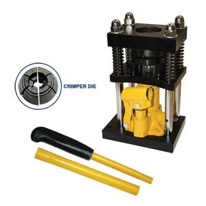 Interstate Pneumatics H10-8 Manual Benchtop Hydraulic Jac...