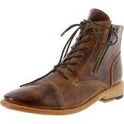 Bed Stu Women's Bonnie Tan Rustic High-Top Leather Boot - 6M