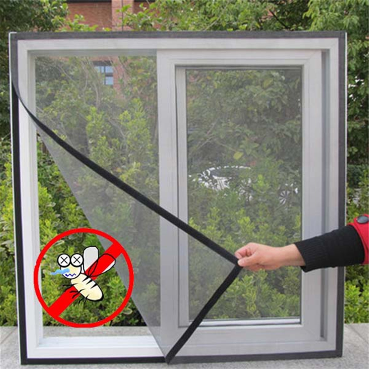 Summer Winter Insect Fly Screen Curtain Mesh Bug Mosquito Netting