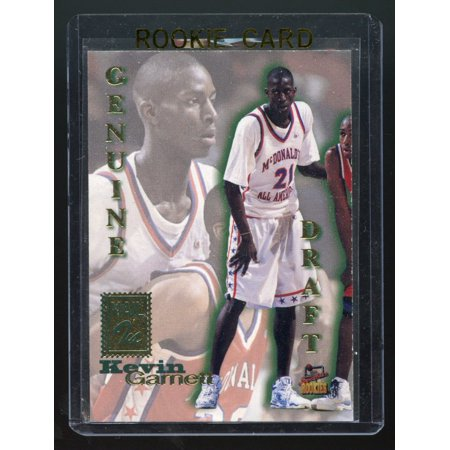 - 1995 Signature Rookies Genuine Draft #NNO Mail In Kevin Garnett Rookie Card