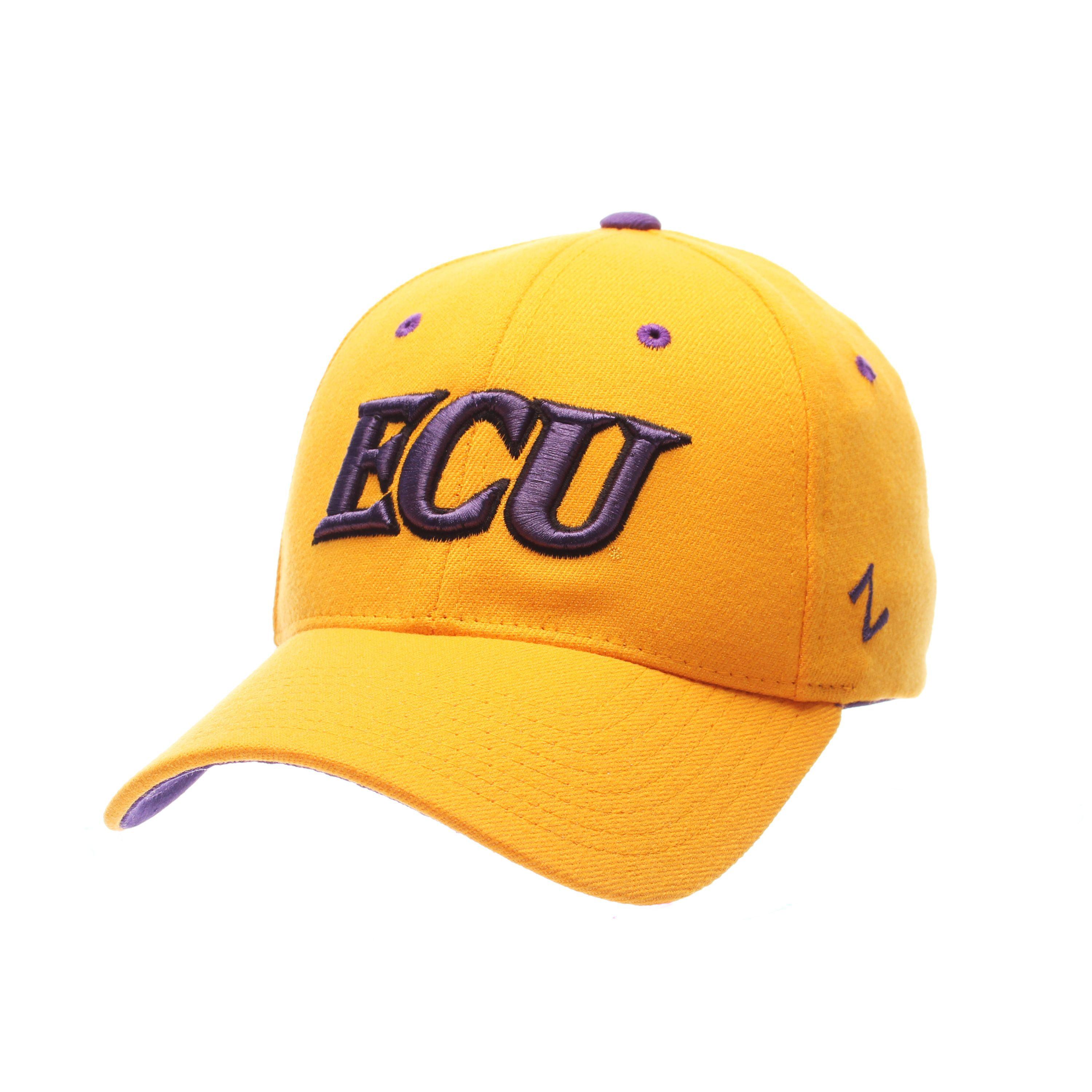 East Carolina Pirates ZH Stretch Hat (Gold)