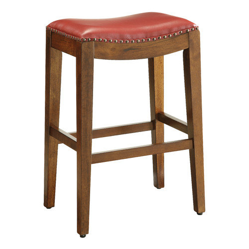 OSP Designs Metro 29'' Bar Stool with Cushion