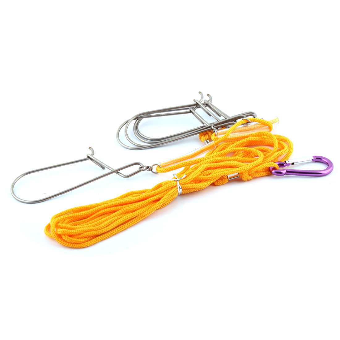 how to use a rope fish stringer