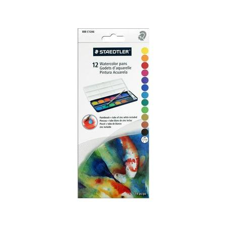 Staedtler Watercolor Pans Set - Watercolour Pan Sets