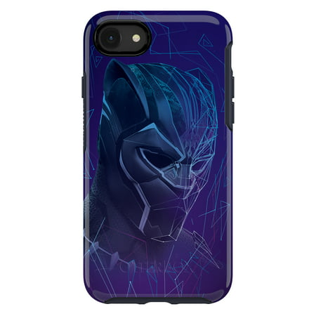 big sale 4e8c9 6d325 Otterbox Apple Symmetry Case for iPhone 8/7, Black Panther - Walmart.com