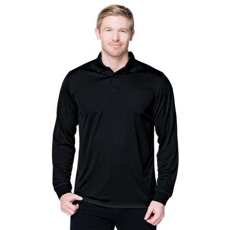 - Tri-Mountain Men's Big And Tall Rib Collar Pique Polo Shirt