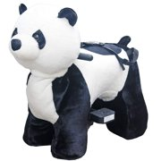 Rechargeable 6V/7A Plush Animal Ride On Toy for Kids (3 ~ 7 Years Old) With Safety Belt Panda