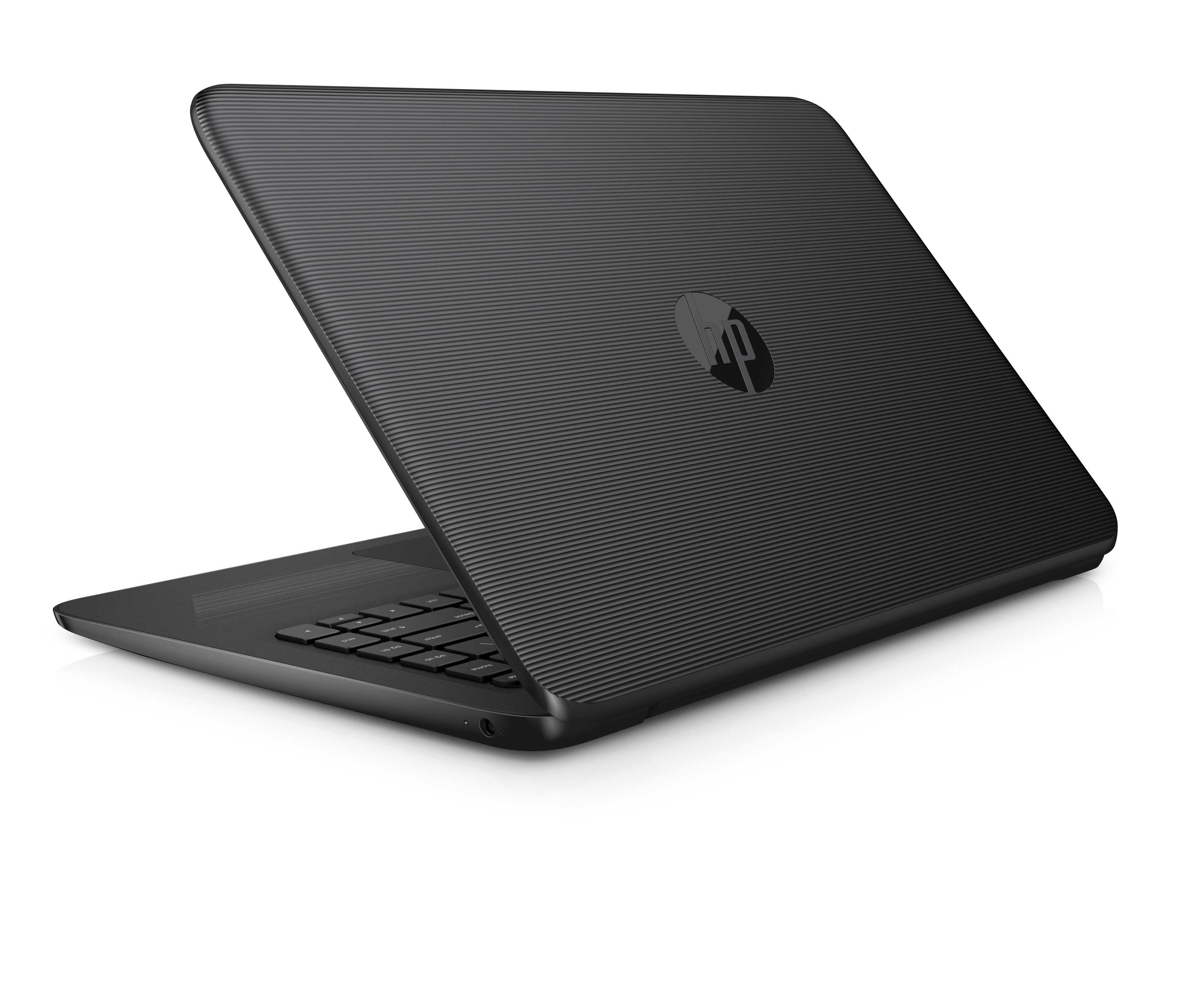"HP Stream 14"" Jet Black Laptop, Windows 10 Home, Office 365 Personal 1-year included, Intel Celeron N3060 Processor, 4GB RAM, 32GB eMMC Storage"