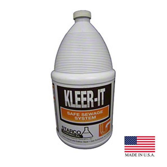 Starco Chemical 9405 PE Kleer It Drain Cleaner & Deodorizer - Case of 4
