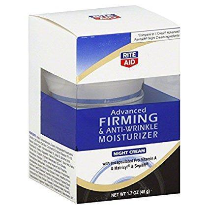 Rite Aid Advanced Firming   Anti Wrinkle Moisturizer