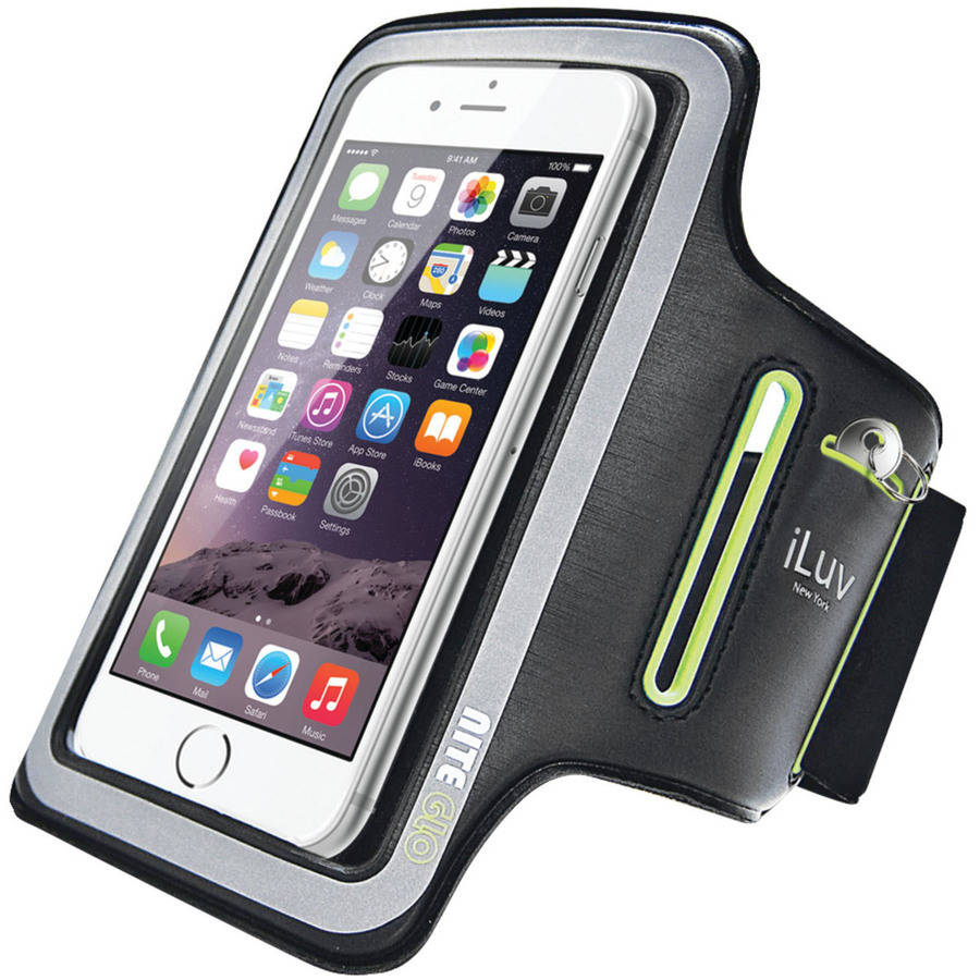iLuv UP1ARMBBK Apple iPhone 6/iPhone 6 Plus/Phablet Sports Armband