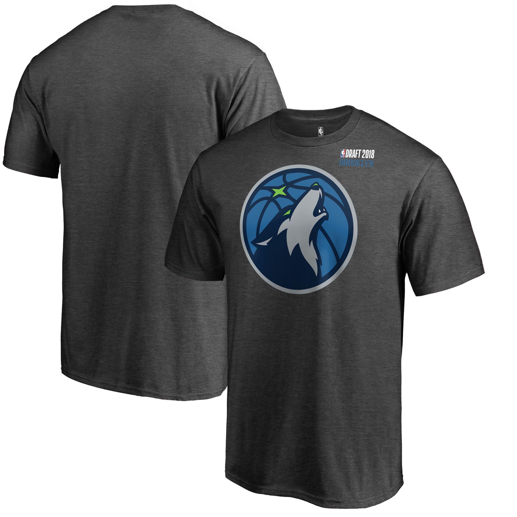 Minnesota Timberwolves Fanatics Branded 2018 NBA Draft BKLYN T-Shirt - Heather Gray