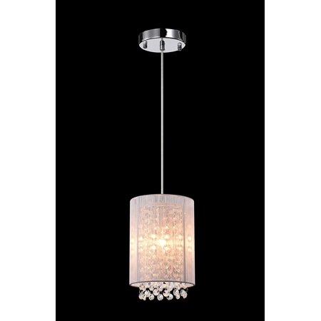 Lalula Crystal Pendant Lighting 1-light Modern Ceiling Lights ...