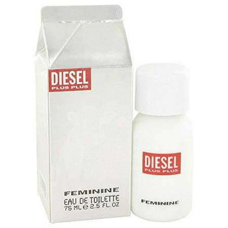 Plus Plus Feminine by Diesel 2.5 oz Eau de Toilette Spray New in Box (Women) (Diesel Perfume Women)
