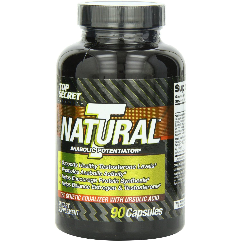 Top Secret Nutrition - Natural T Test Booster (90 ct)