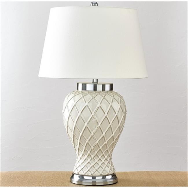 Split P 4010-293 Trellis Ceramic Lamp by Split P