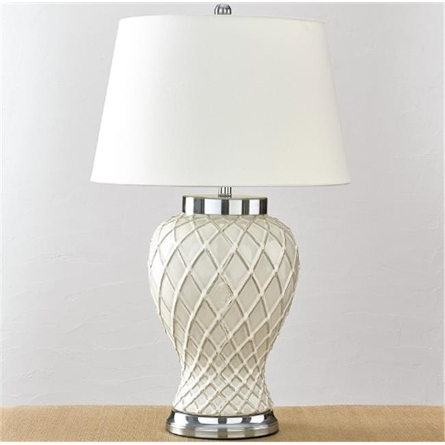Split P 4010-293 Trellis Ceramic Lamp
