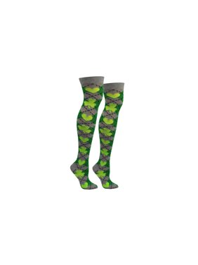 814abd33c5d Product Image St. Patrick s Day Over The Knee Argyle Socks
