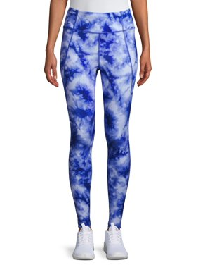 Avia Women's Active Performance Tie Dye Leggings