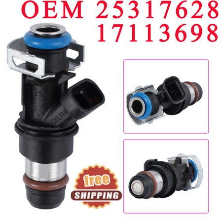 Fuel Injectors For 1999-2007 Chevy GMC Cadillac & Chevrolet 4.8L 5.3L 6.0L OEM#25317628 17113698 (Fuel Injector Connector)