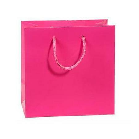 1 Unit Hot Pink Gloss Jewel Gift Bags Bulk 6 2x3