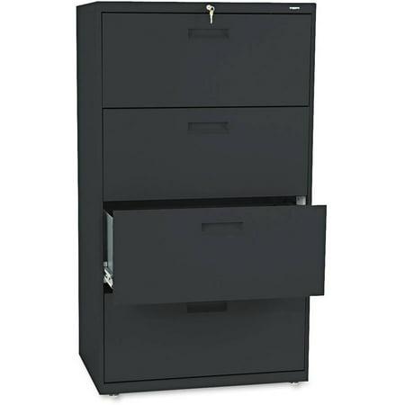 Hon 500 Series Multi Drawer Lateral File  Black