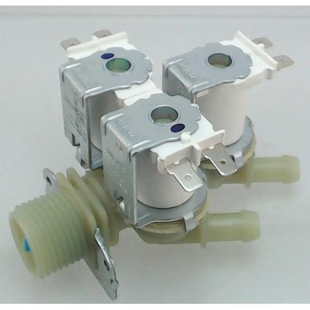 Washing Machine Water Valve for LG, AP4444447, PS3527433,5220FR2075C Brand new washing machine water valve replaces LG Appliances, 5220FR2075C.