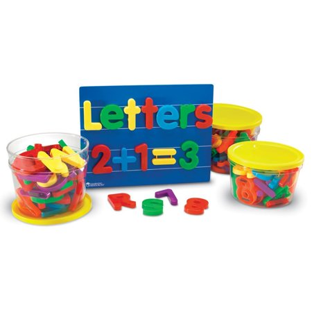 Learning Resources Jumbo Magnetic Letters & Numbers Combo Set, 116 Pieces