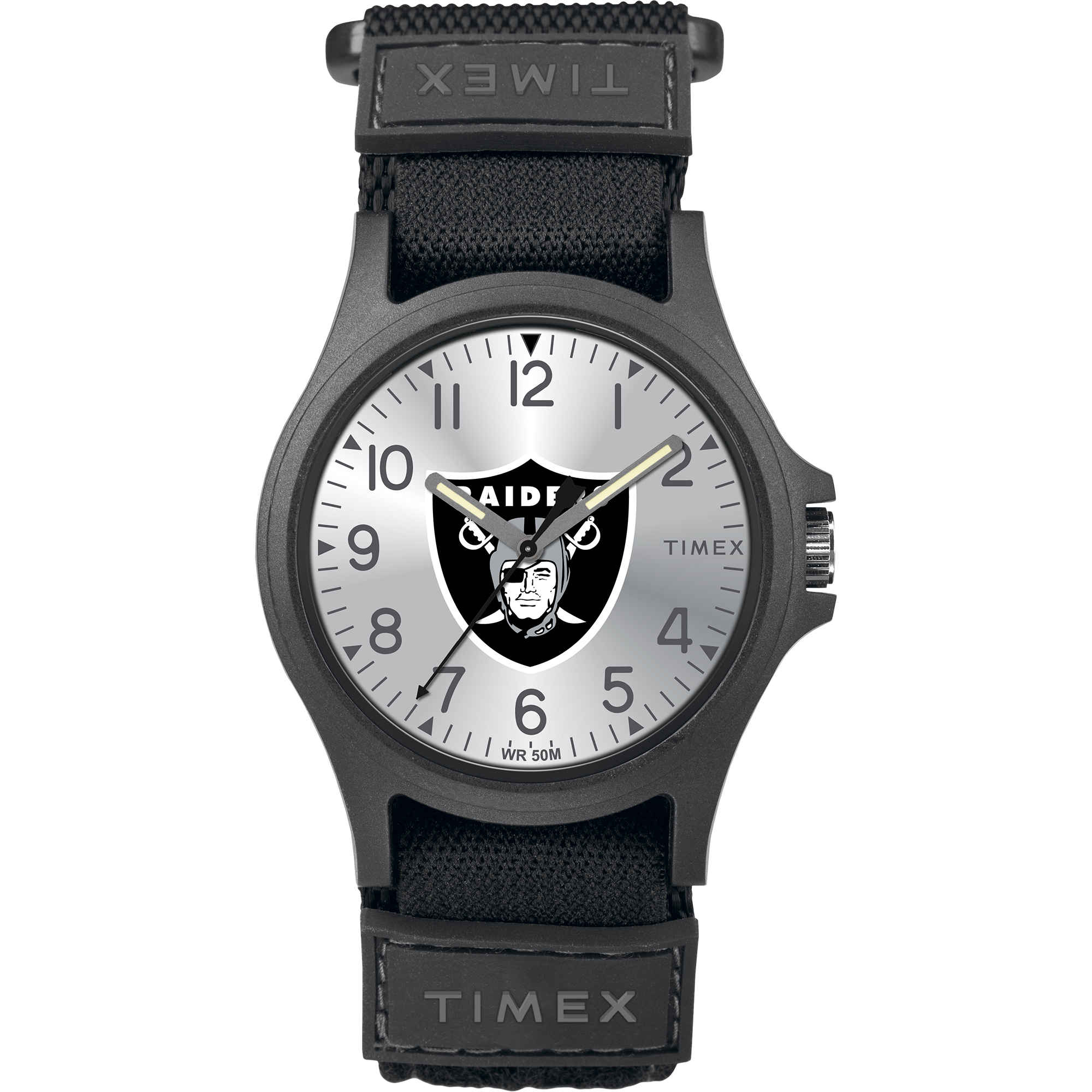 Timex - NFL Tribute Collection Pride Men's Watch, Oakland Raiders