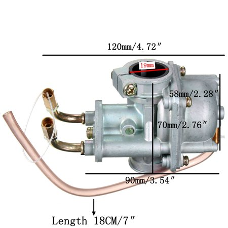 Carburetor For Yamaha 1981-2009 PW50 PW 50 QT 50 Yzinger Motorcycle Carburetor - image 2 of 7