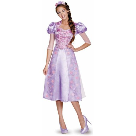Disney Princess Rapunzel Deluxe Men's Adult Halloween Costume (Disney Adult Pocahontas Costume)