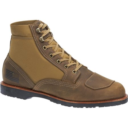 Leather Lace Up Boots (Bates Men's Freedom Water resistant Leather Lace Up Work Boot)