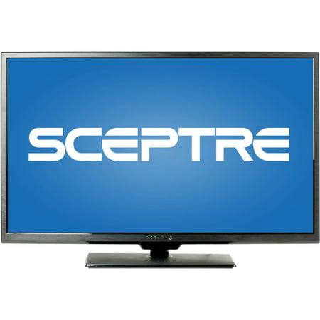 Sceptre X405bv F 40  Led Class 1080P Hdtv With Ultra Slim Metal Brush Bezel  60Hz