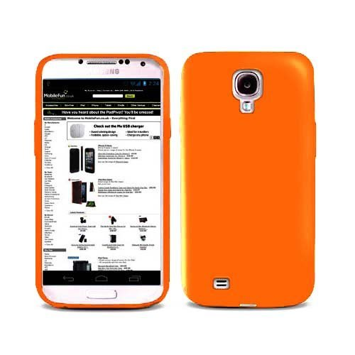 Silicone Skin Case for Samsung Galaxy S3 i9500 - Orange