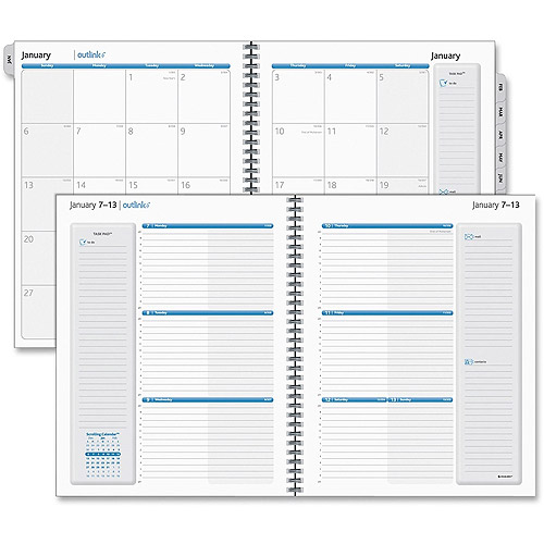 At-A-Glance Outlink Weekly Planner Refill