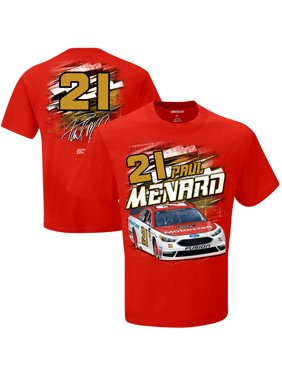 ae28aa7e210 Product Image Paul Menard Checkered Flag Menards Torque T-Shirt - Red