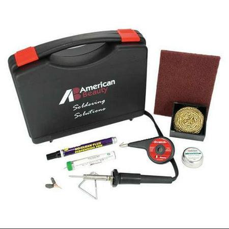 american beauty psk25 soldering kit 25w iron plated copper tip. Black Bedroom Furniture Sets. Home Design Ideas