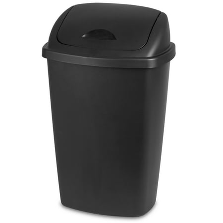 Sterilite, 13.2 Gal./50 L SwingTop Wastebasket, - Medium Soft Wastebasket