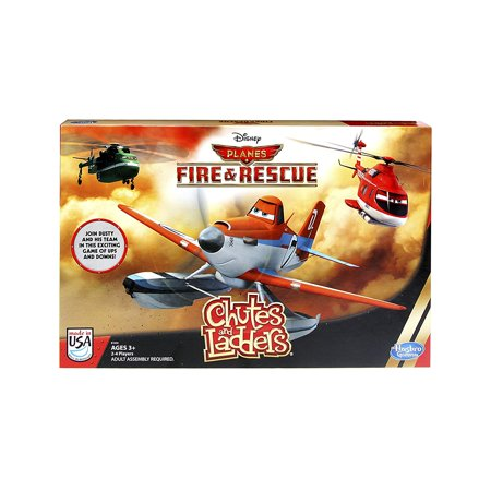 Disney Planes: Fire and Rescue Chutes and Ladders Game, High quality toys for children all ages By Hasbro](Chutes And Ladders Game)