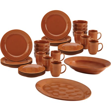 Rachael Ray 32-Piece Cucina Dinnerware Set with Your Choice of Cucina