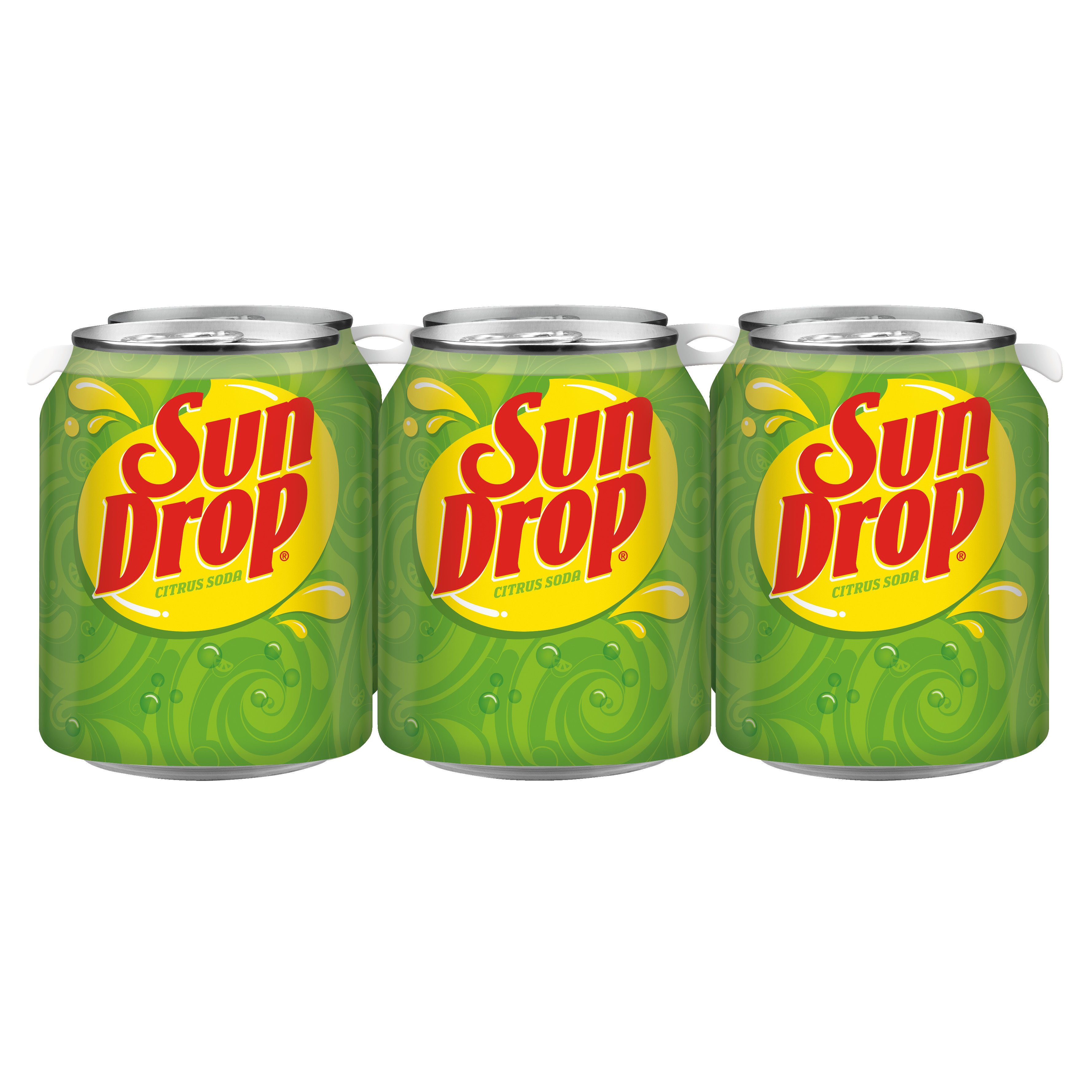 Sun Drop, 8 fl oz, 6 pack