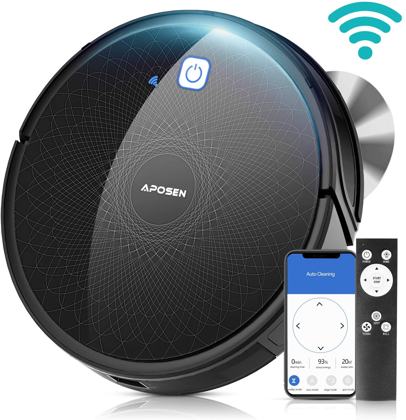 APOSEN Robot Vacuum Cleaner With Mapping Technology