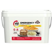 Augason Farms 48-Hour 4-Person Emergency Food Supply, 95 Oz