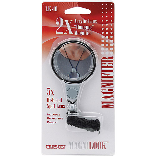 Carson Optical MagniLook Hanging Magnifier