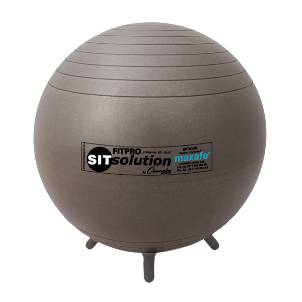 65 cm Maxafe® Sitsolution Ball With Stability Legs