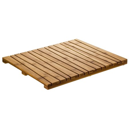 Prosumers Choice Bamboo Floor Mat For Bath Shower Or Sauna