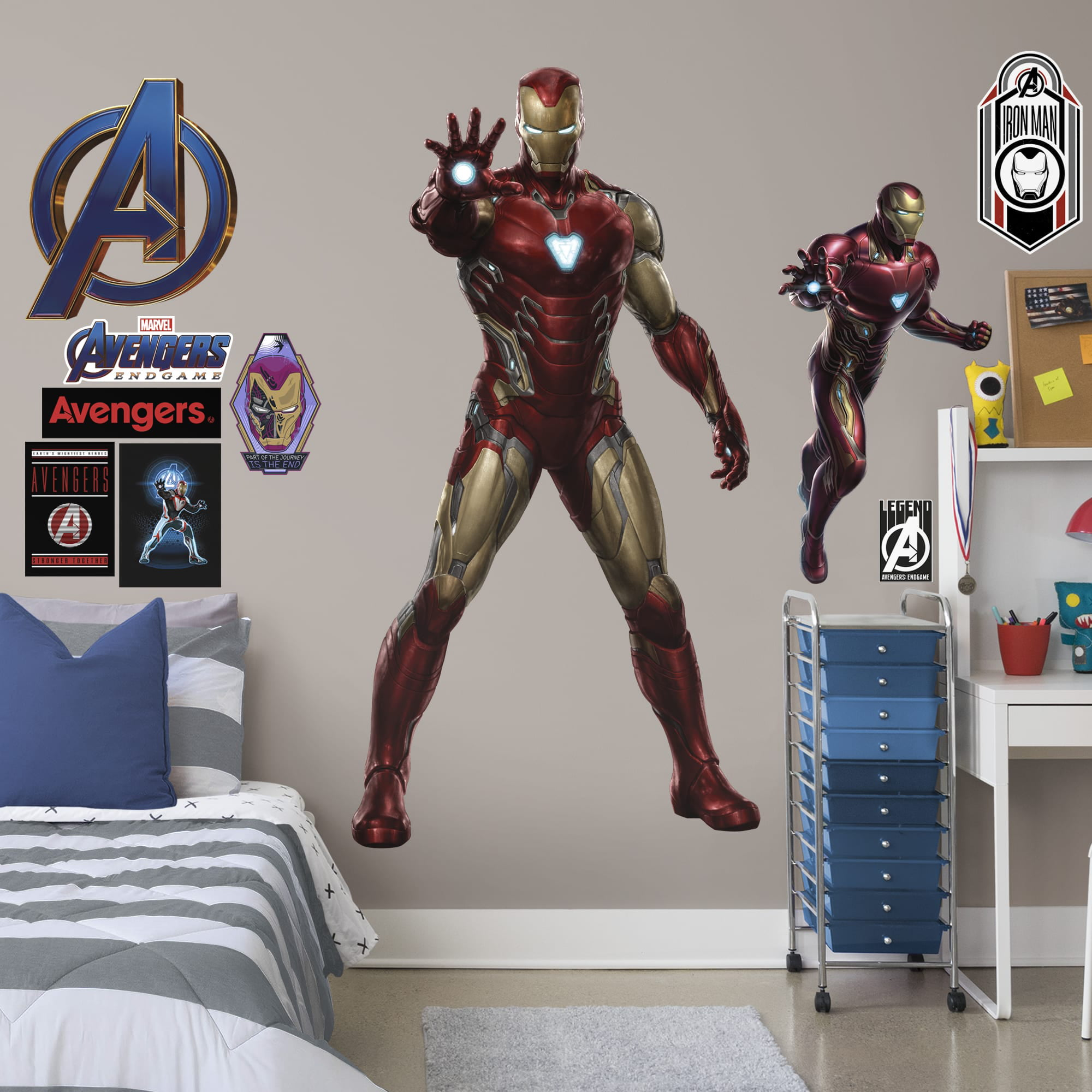 Marvel Avengers Iron Man Window Decal Sticker Auto Officially Licenesed