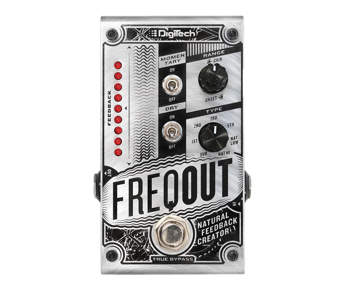 DigiTech FreqOut Frequency Dynamic Feedback Generator Pedal by