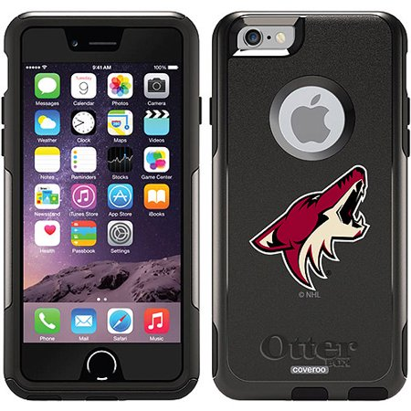 Phoenix Coyotes Primary Logo Design on OtterBox Commuter Series Case for Apple iPhone 6 by